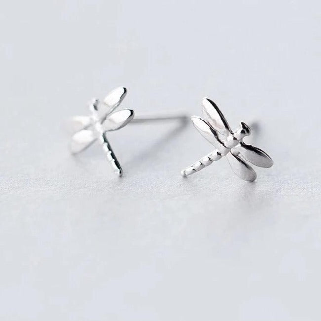 Dragon Fly Silver Earrings