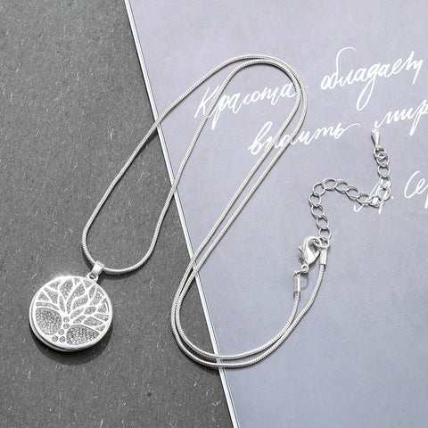 Gisela Silver Tree of Life Necklace