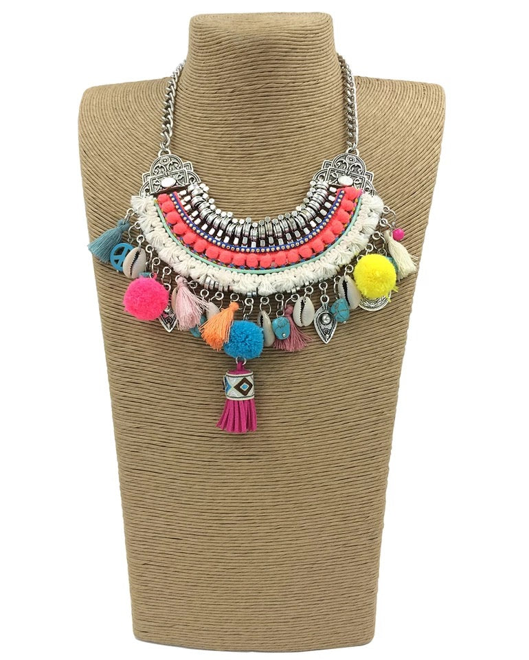 Acacia Boho Necklace