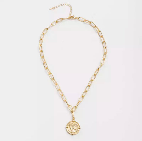 Desyrae Coin Necklace