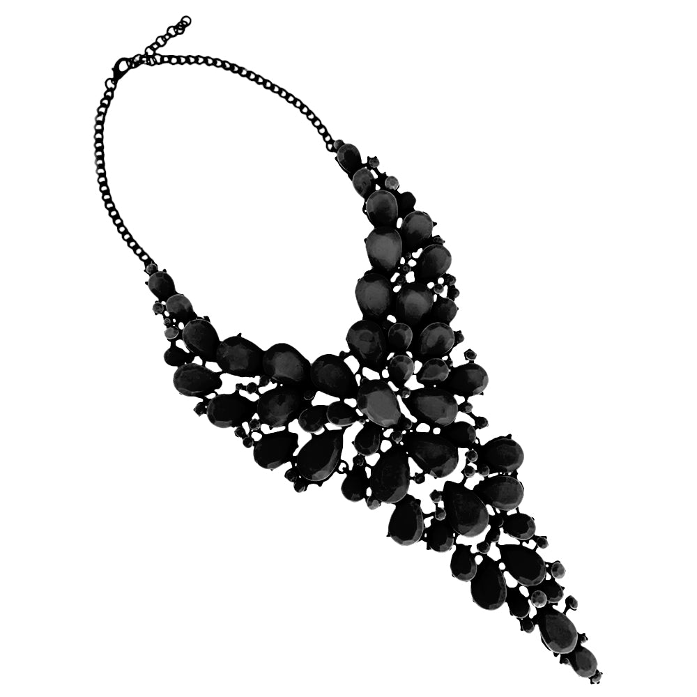 The Valentina Black Necklace