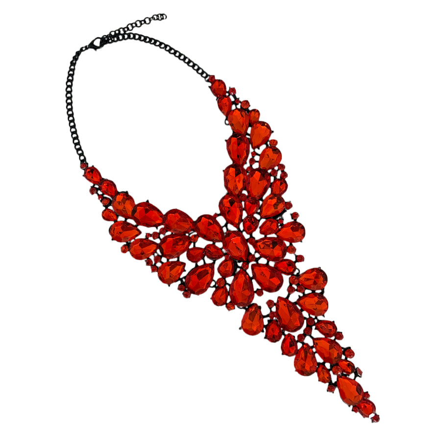 The Valentina Red Necklace