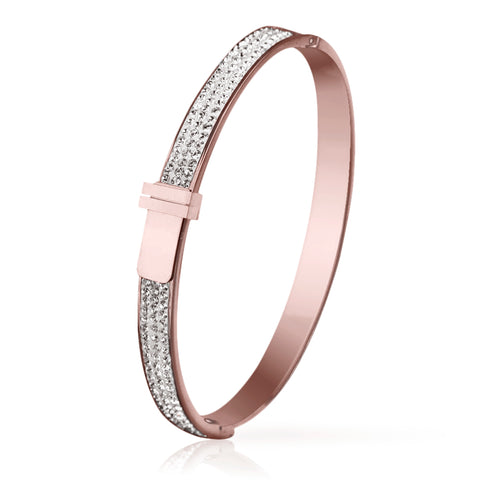 Paulette Rose Gold Bangle
