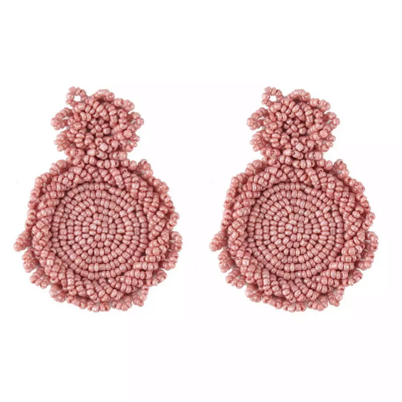 Camilla Shimmer Pink Earrings