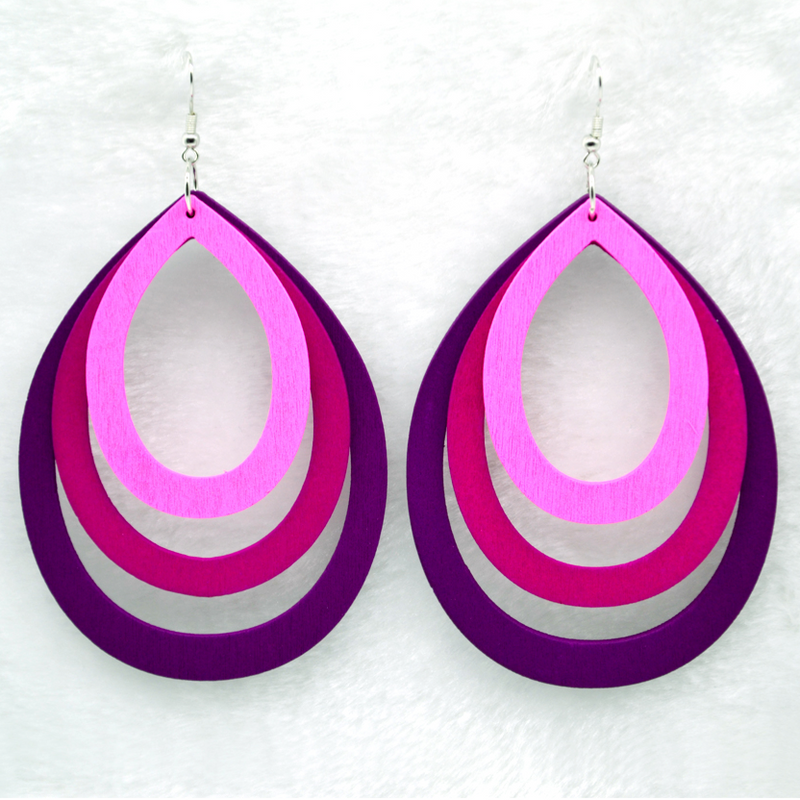 Tosia Pink Earrings