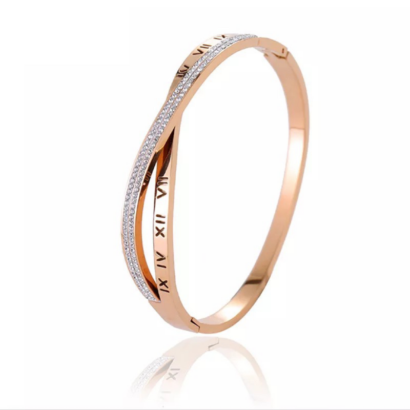 Yolanthe Rose Gold Bangle
