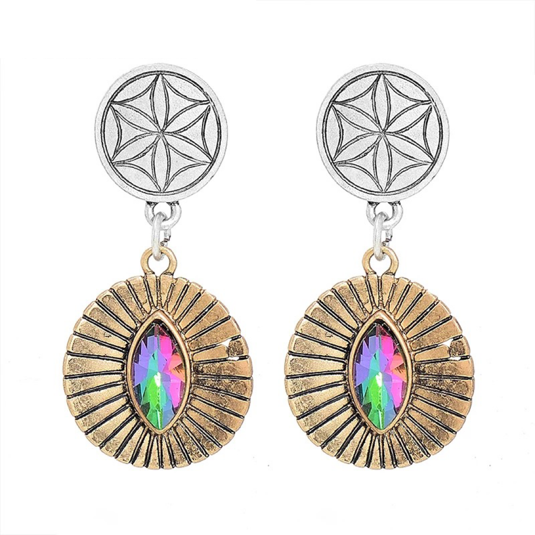 Bedelia Deux Mix Earrings