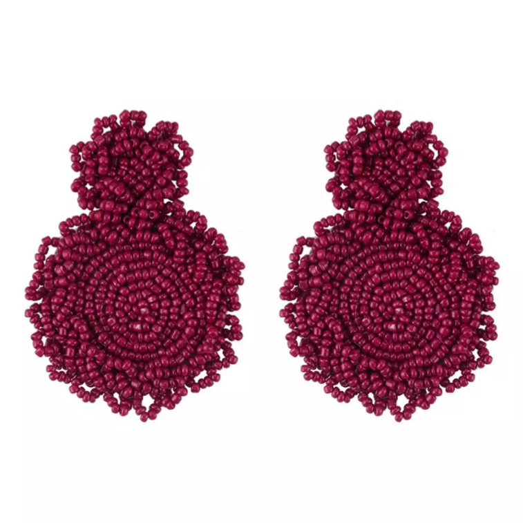 Camilla Purple Earrings