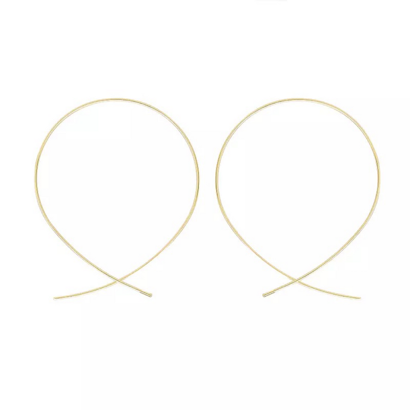 Duchess Hoop Gold Earrings
