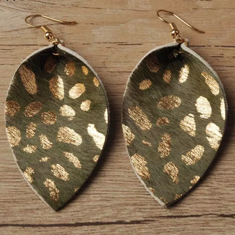 Ana Olive Earrings