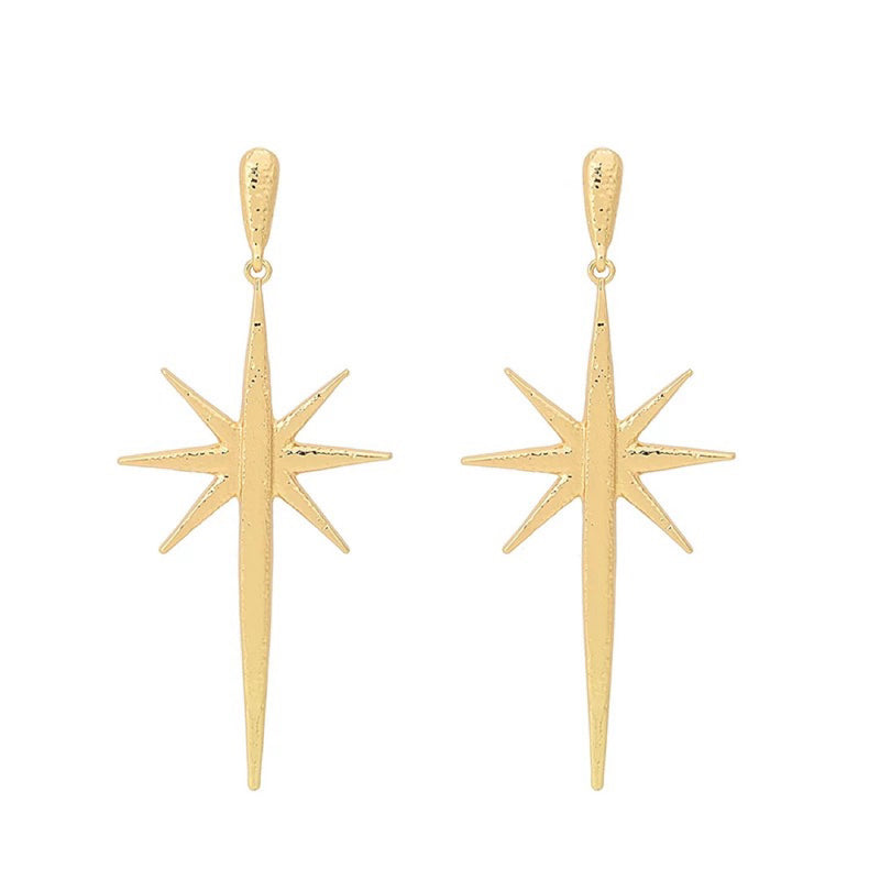 Sabine Star Gold Earrings