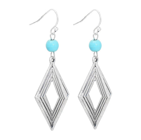 Farrah Silver Earrings