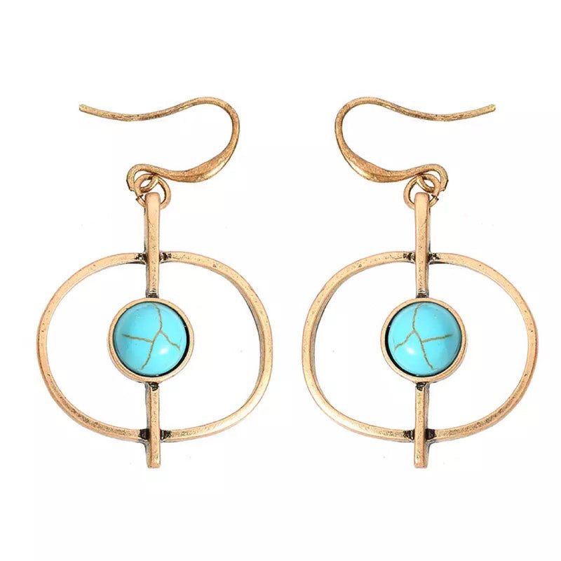 Kristelle Gold Earrings