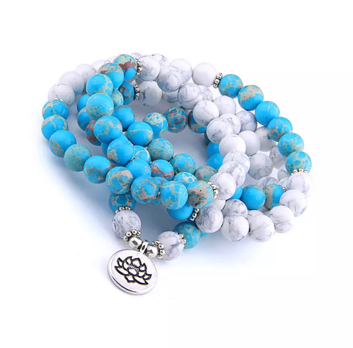 The Mala Lotus Necklace/Bracelet