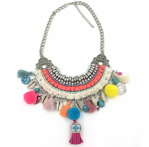 Acacia Boho Necklace - BACK IN STOCK