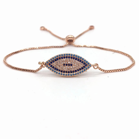 Evil Eye Rose Gold Bracelet (top sellers - almost gone)