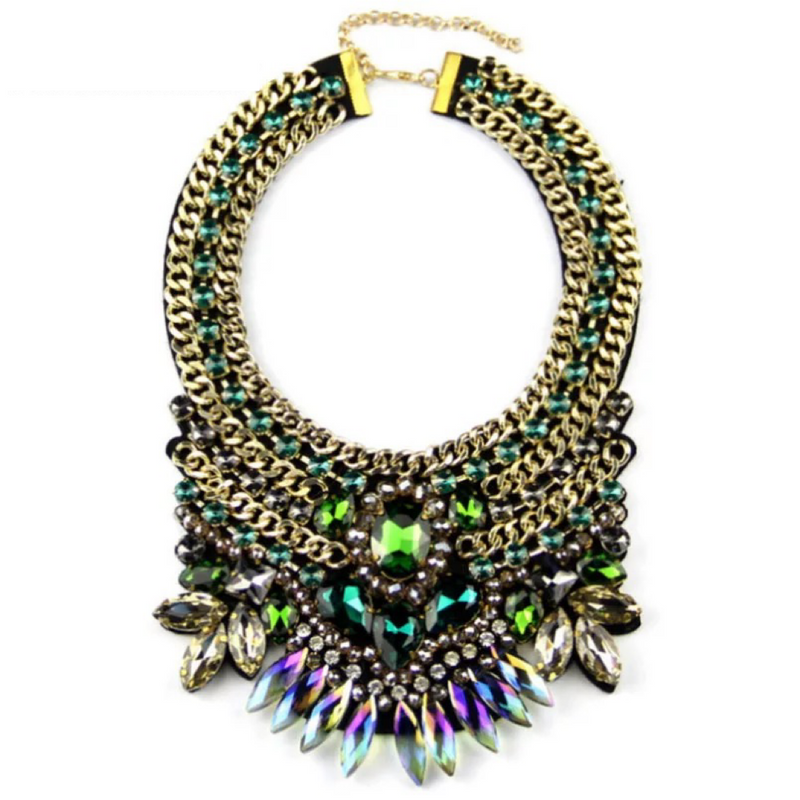 The Loukia Green Necklace