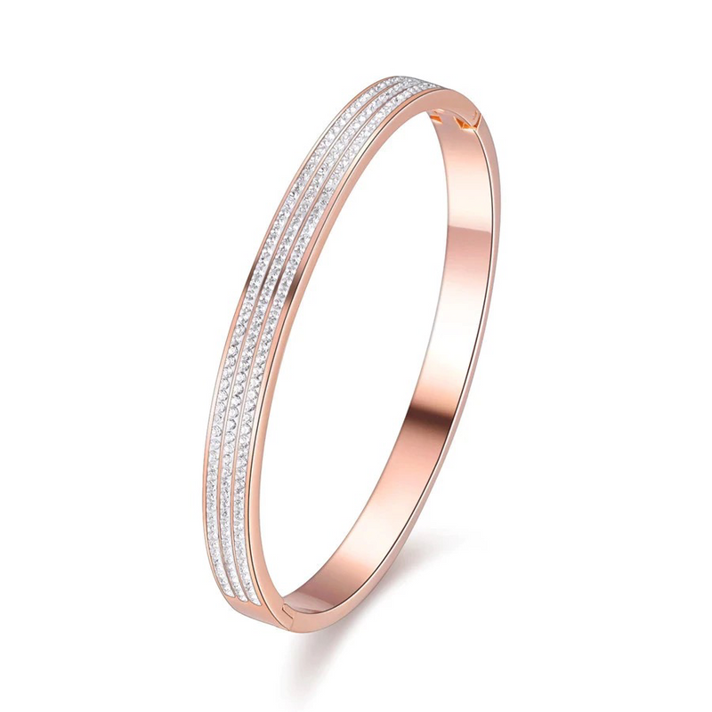 Gabriella Rose Gold Bangle