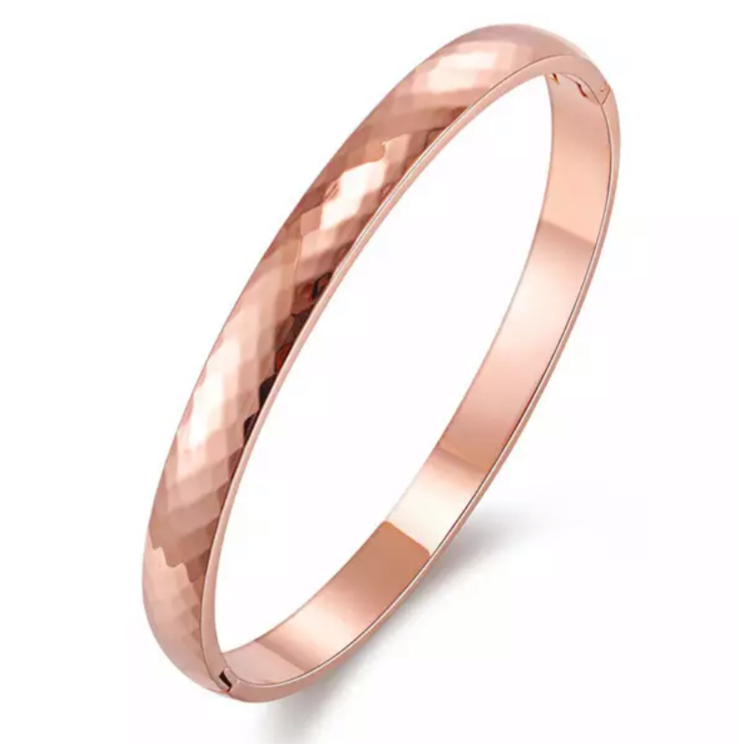 Pascala Rose Gold Bangle