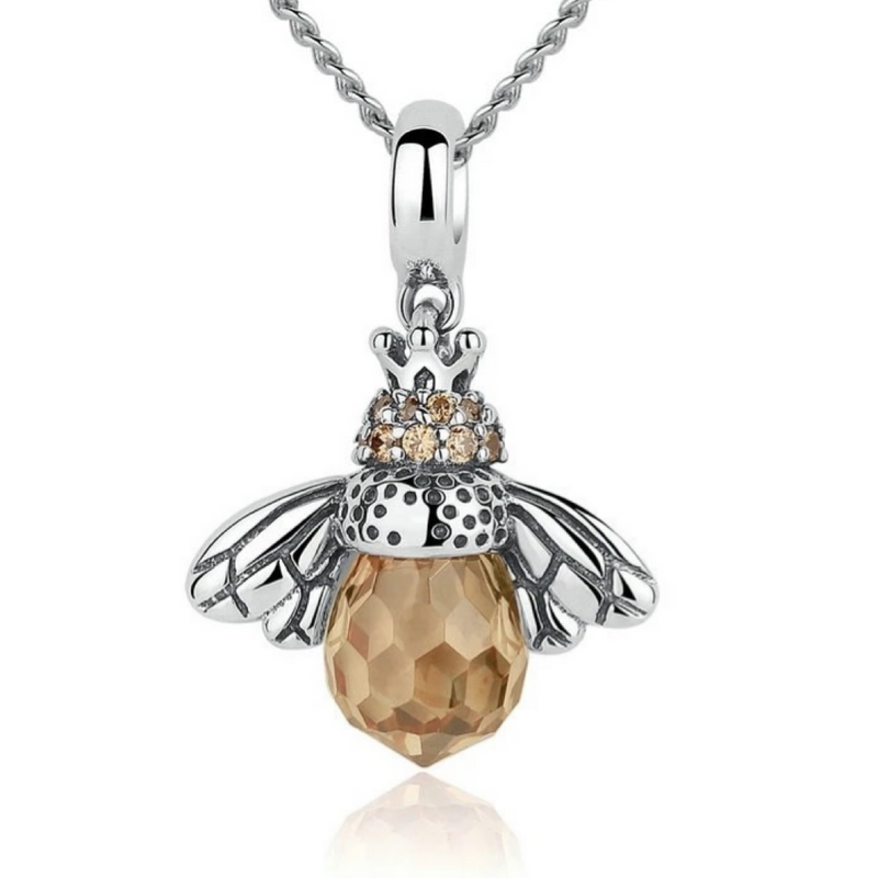 Queenie Bee Sterling Silver Necklace