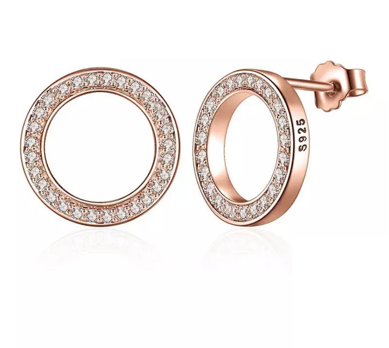 Karlotta Rose Gold Earrings