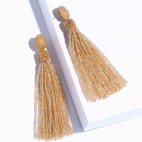 Anais Champagne Earrings
