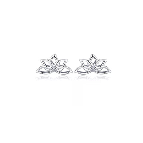 Lyric Lotus Sterling Silver Earrings
