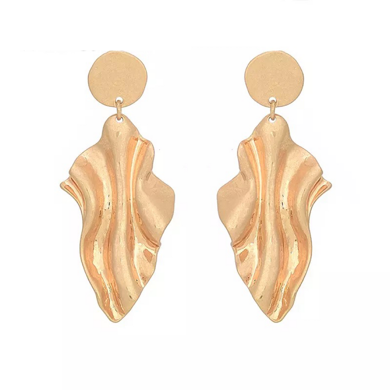 Blanche Gold Earrings