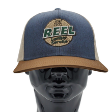 Load image into Gallery viewer, Reel Lumber Service Mesh Back Trucker Cap