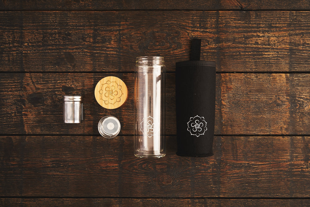 Fitness Set mit Flasche & Superfood Tee (Premium Kit) - B.TEALY