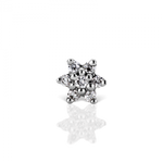 Maria Tash 3mm Diamond Flower Nostril Screw