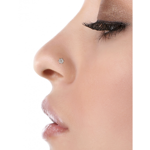 Maria Tash 4.5mm Diamond Flower Nostril Screw