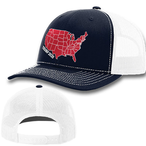 Trump Election Map Premium Hat