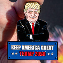 Load image into Gallery viewer, Keep America Great Trump 2020 Pin
