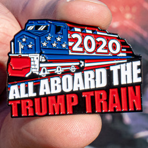 Trump Train 2020 Pin