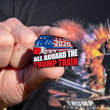 Load image into Gallery viewer, Trump Train 2020 Pin