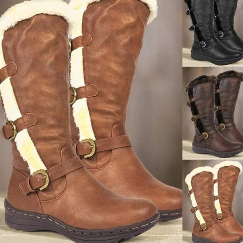 2020 Women Vintage Warm Winter Boots