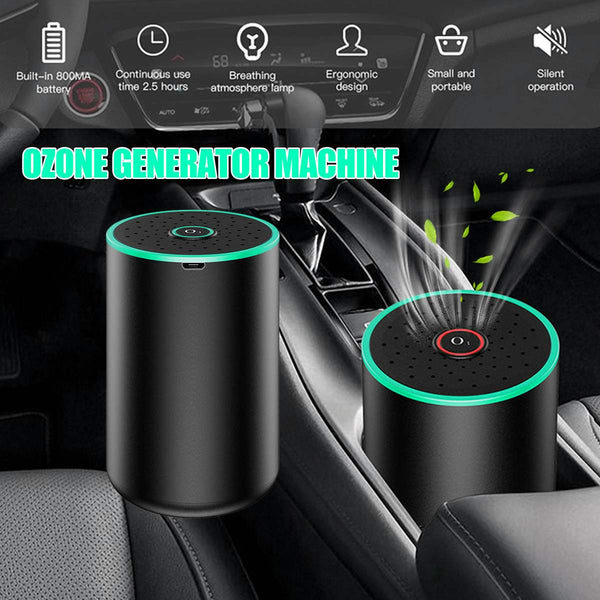 800mA USB Ozone Generator Ozone Disinfection Machine Home Car Air Purifier 50mg/h Auto Air Freshener Humidifier For Cars