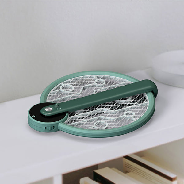 USB Rechargeable Mosquito Swatter Mosquito Killer Lamp Tennis Bat Hand-held Racket Fly Bug Zapper Electric Mosquito Swatter