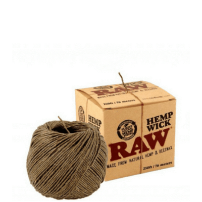 Raw Hemp Wick - 250ft/ 76 Meters