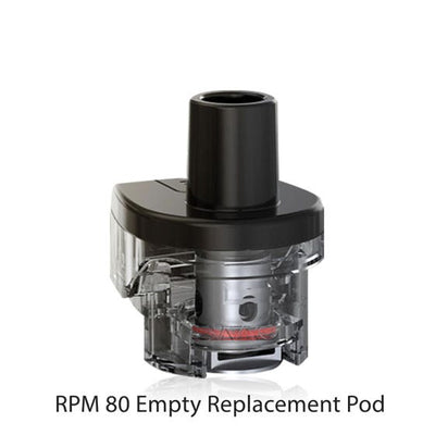 Smok RPM 80 RPM Empty Replacement Pod 3/PK