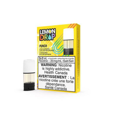STLTH - Lemon Drop - Premium Pods 3 Pack