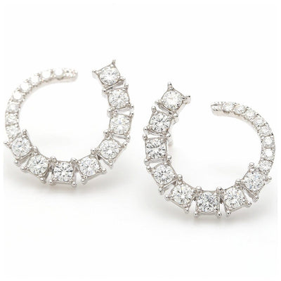 Willow Diamond Earrings