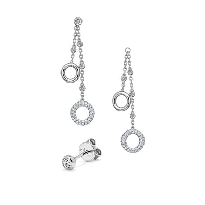 Moon River Diamond Earrings