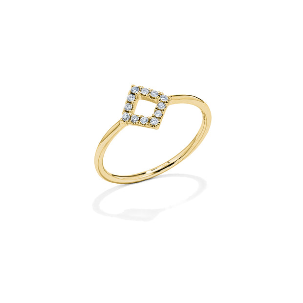 Princess Diamond Ring - Mini