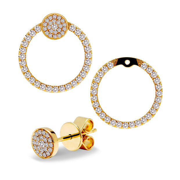 Brilliant Round Diamond Earrings