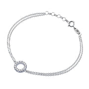 Brilliant Round Diamond Bracelet