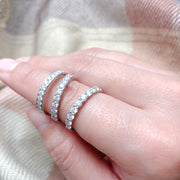 Channel Set Diamond Band