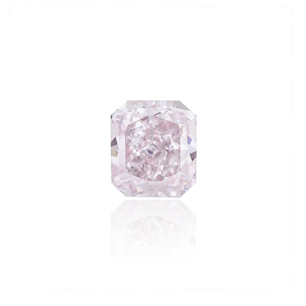Radiant cut Very Light Pink Diamond (1.70 Carat)