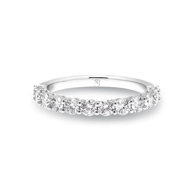 Classic Floating Diamond Band